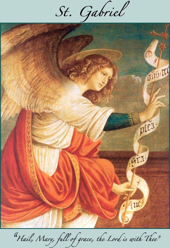 Archangel gabriel feast day