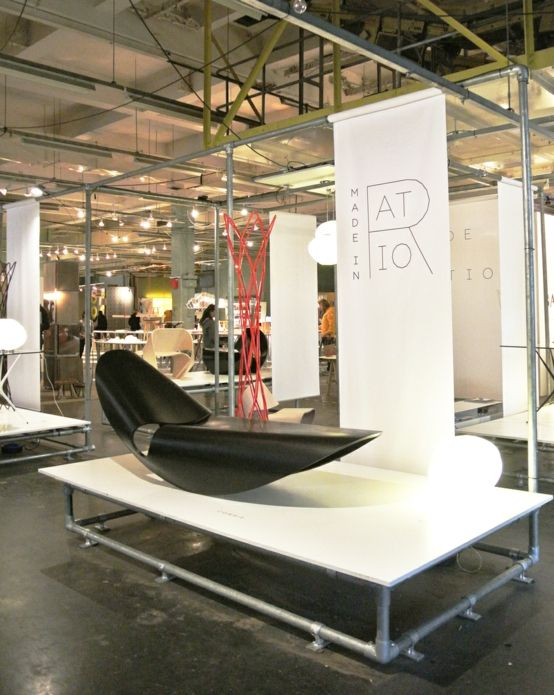 The furniture design proposed by Made in Ratio