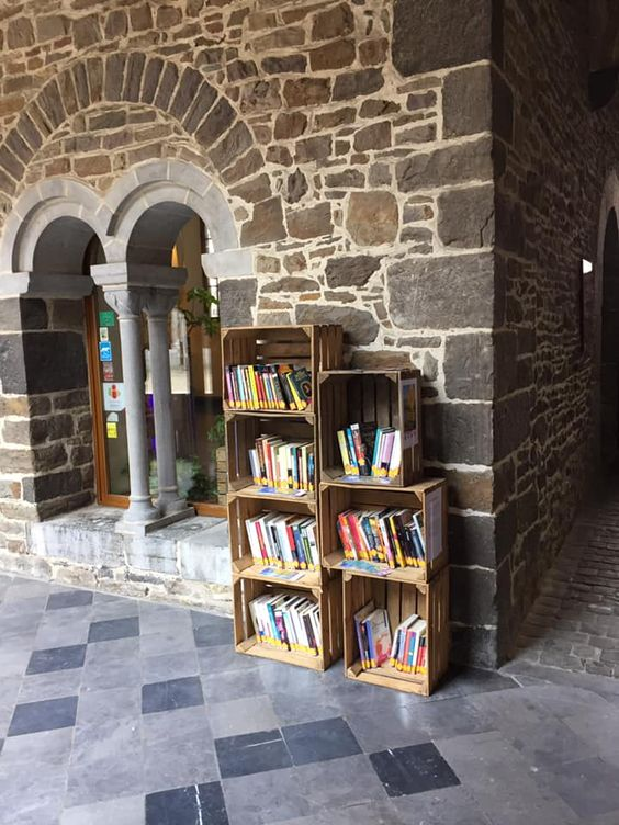 bookcrossing Liege cloitre