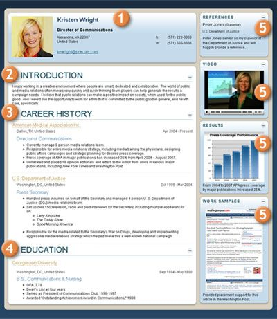 Our Resume Builder makes it easy with tips and key phrases to guide