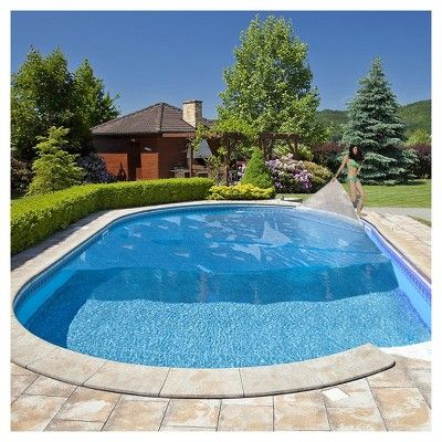 The Solarplex Signature Is Our Best Quality Top Of The Line Solar Blankets For Your Above Ground P Backyard Pool Swimming Pool Designs Swimming Pools Backyard