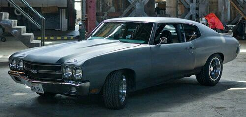 Chevelle Ss Fast Furious Movie Car Muscle Cars