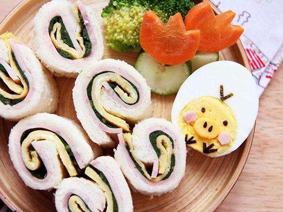 雞蛋蔬菜捲[簡易親子食譜]