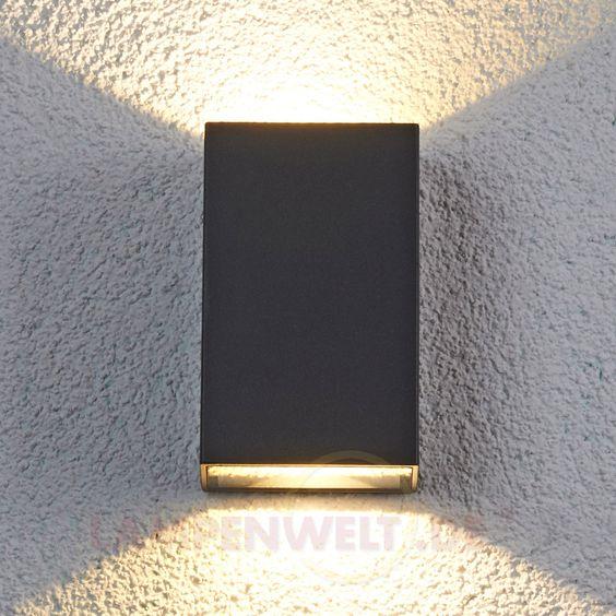 Jale - LED-Außenwandleuchte aus Aluminum 9618017