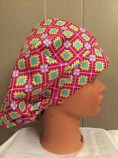 Hey, I found this really awesome Etsy listing at https://www.etsy.com/listing/287671275/tribal-diamond-print-bouffant-syle