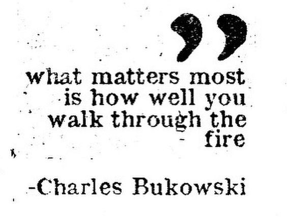 If you keep the fire in your belly going, you can walk very well through any fire!   #entrepreneurs #entrepreneurship #startups #motivation #perseverance #sticktoitiveness