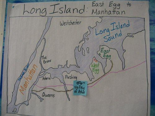 map-of-east-and-west-egg-in-the-great-gatsby-6317.jpg (500×375 ...