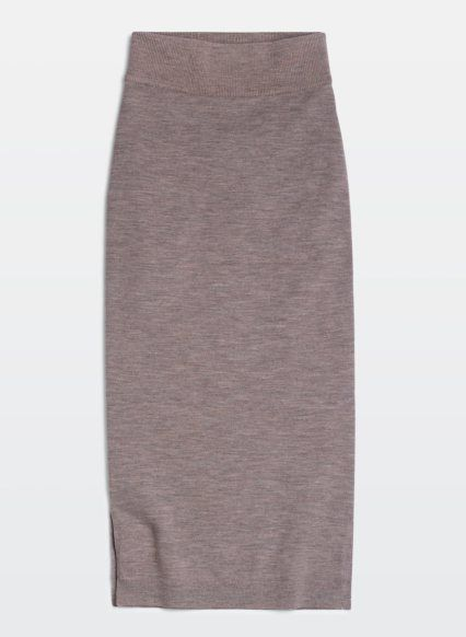 Here are my top picks at Aritzia.com. Nori Dress, $125. Wear now with a thin long sleeve tee or trutleneck underneath. Gentiane Skirt, $80 A sexy yet cozy Italian knit skirt that fits like a glove....: