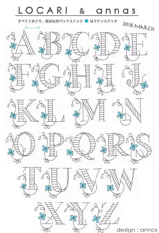 Diy花嫁さんも必見 アルファベット刺繍のロゼット の作り方 ハンドレタリングアート 刺繍 図案 クロスステッチ 図案