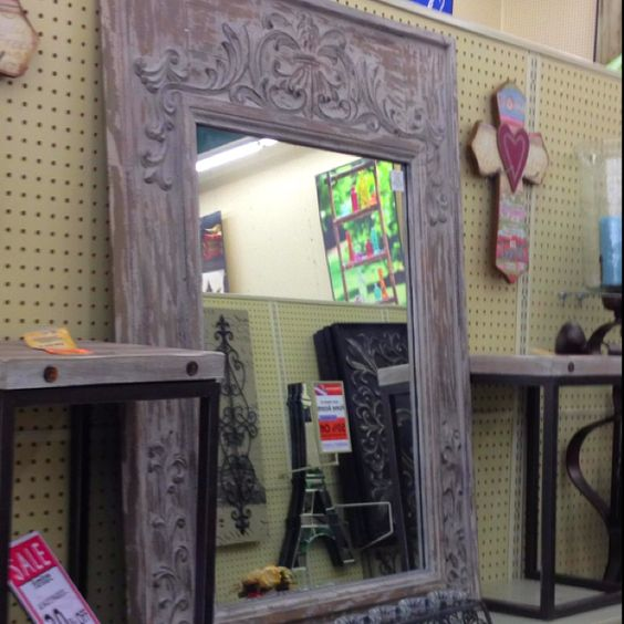 Hobby lobby mirror home decor pinterest hobbies for Bathroom decor at hobby lobby