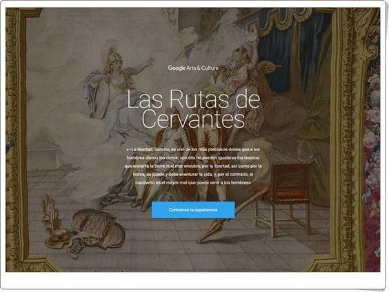 Las Rutas de Cervantes (Google)