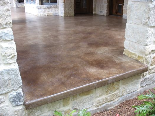 Take A Look At This Patio Concrete Stain   Solcrete.com | Patio | Pinterest  | Concrete, Patios And Porch