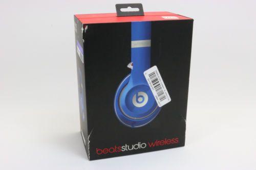 Beats Studio Wireless Over-Ear Headphones Beats by Dr. Dre - Blue https://t.co/jrzaOTZTxT https://t.co/TLk1C956nL