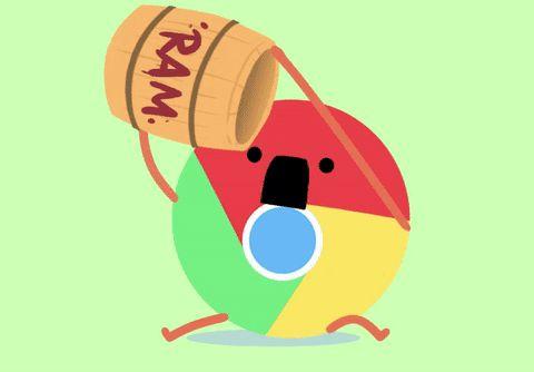 Como os browsers consomem memória