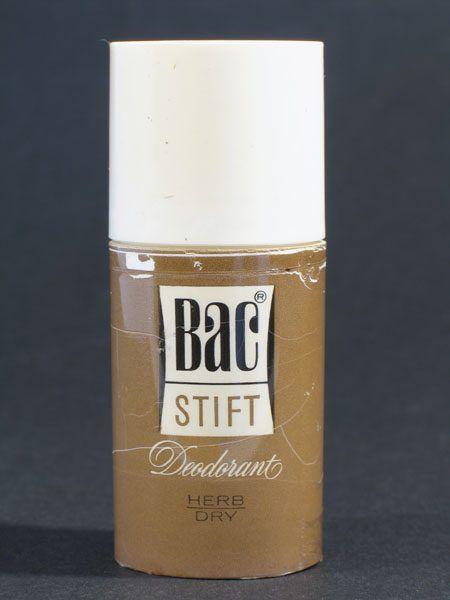 Bac - deodorant stift - herb/dry