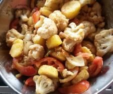 Rezept Gebratener Blumenkohl mit Kartoffeln von flipper1967 - Rezept der Kategorie Hauptgerichte mit Gemüse