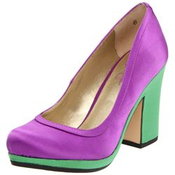 Feeling especially hue-happy? Satisfy your color cravings with these colorblock pumps
