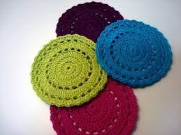 Resultado de imagen para posavasos a crochet
