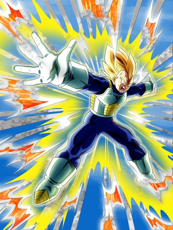 Vegeta Similar To Dokkan Battle By Monodoomz Dragon Ball Z Dragon Ball Super Wallpapers Dragon Ball Super