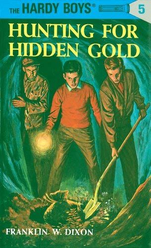 book cover of Hunting for Hidden Gold