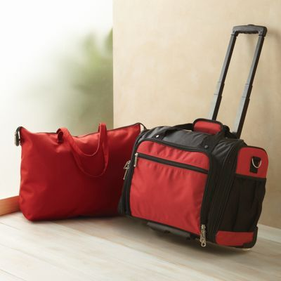 Rolling Carry On Bag; Carry-On Luggage