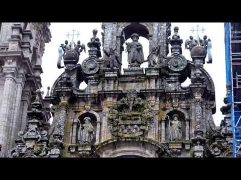 CAMINO FRANCES: Cruz de Ferro to Santiago & Finisterre (On the road to Santiago:5) - YouTube
