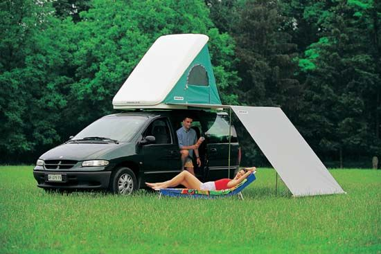 Columbus Roof Top Tent With Awning