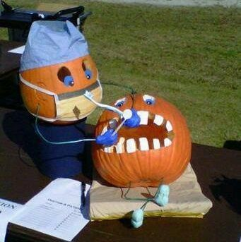 Impressive Pumpkin Carving With Costumes