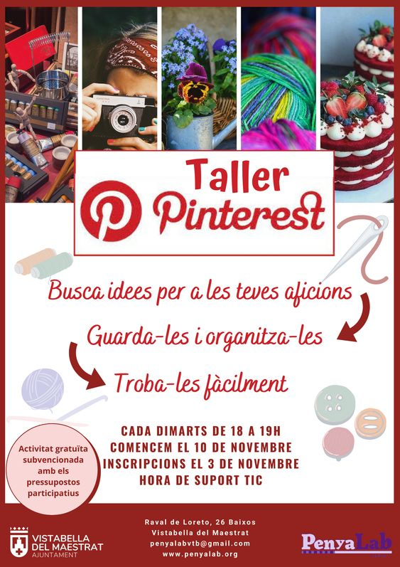 Taller Pinterest