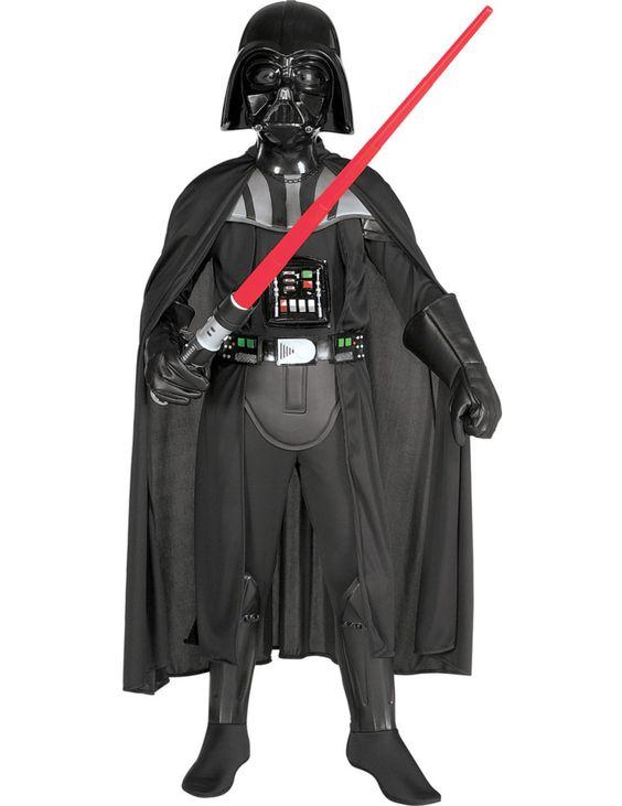 Deluxe Child Darth Vader Costume