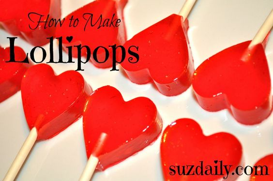 With the right tools it is so easy to make lollipops at home!