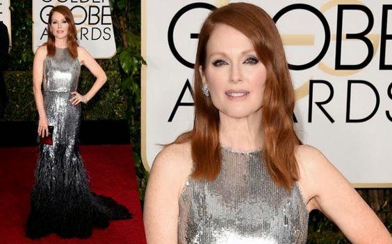 Winner Julianne Moore, Golden Globe Winners