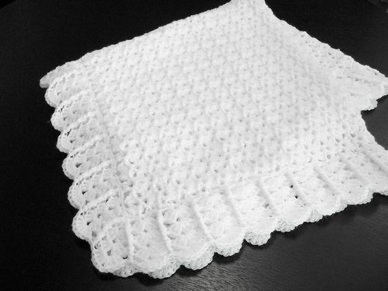 Afghan crochet, Baptisms and Patterns on Pinterest