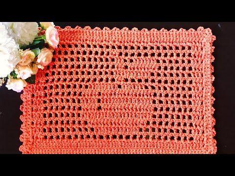 Passo A Passo Jogo Americano Croche Youtube Crochet Edging Patterns Crochet Edging Crochet Patterns
