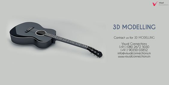 #3D #Modelling #Services in #Bangalore. Know more here:- www.visualconnections.in Contact us - (+91) 9035 003 852