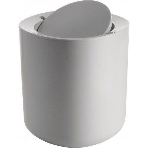 Alessi Birillo Bathroom Waste Bin - White