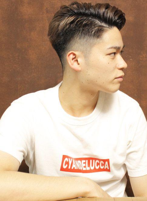 外国人風バーバーショート 髪型メンズ ビューティーナビ メンズ