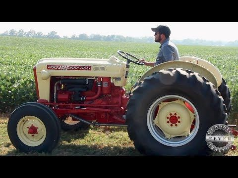 You Won T See This Tractor On The Farm Ford 4000 Industrial Classic Tractor Fever Youtube Classic Tractor Tractors Ford Tractors