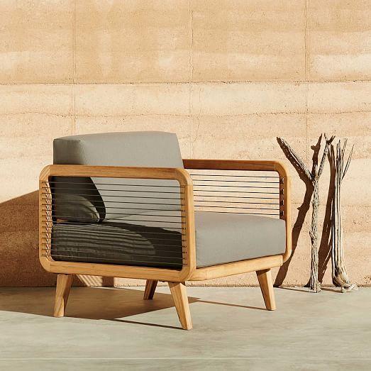 John Vogel Outdoor Lounge Chair west elm purchasedtwo Backyard Lovin