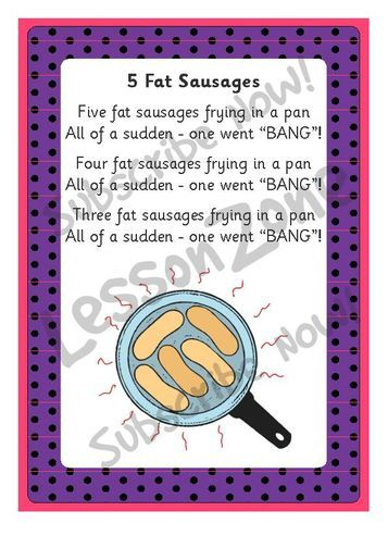 Resultado de imagen de five fat sausages