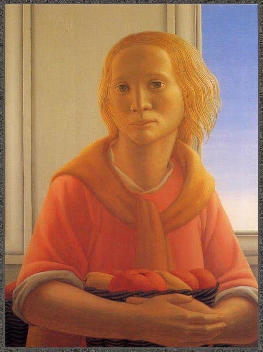 forma es vacío, vacío es forma: George Tooker - pintura