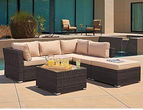 Best Seller Suncrown Outdoor Sofa 4 Piece Patio Furniture Set