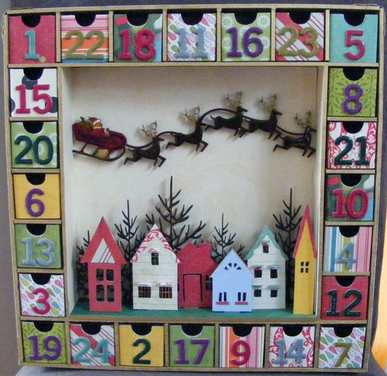 kaisercraft advent calendar - Google Search  I'm making this!  It's already ordered!
