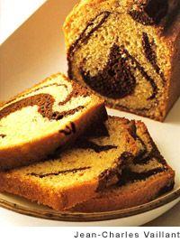 Flourless Chocolate and Vanilla Marble Cake | Recipe | Custard sauce ...