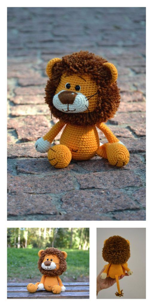 Lion Amigurumi Crochet Pattern by julika | Amigurumi pattern ... | 1024x512