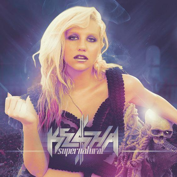 Kesha – Supernatural (single cover art)
