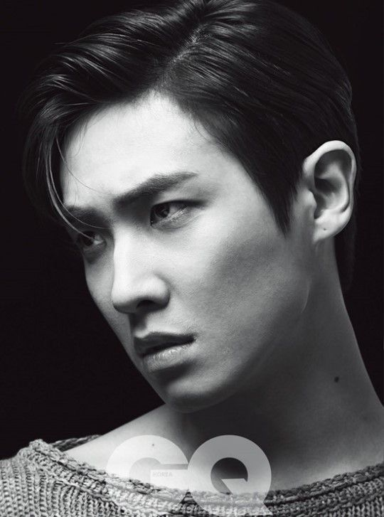 Lee Joon Reveals Charismatic Black and White Pictorial for GQ Korea