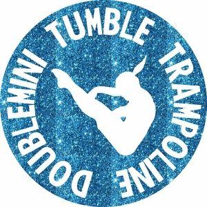 Trampoline, Tumbling, Double Mini Circle! http://girlsloveglitter.com/tumble-dm-trampoline-circle.html