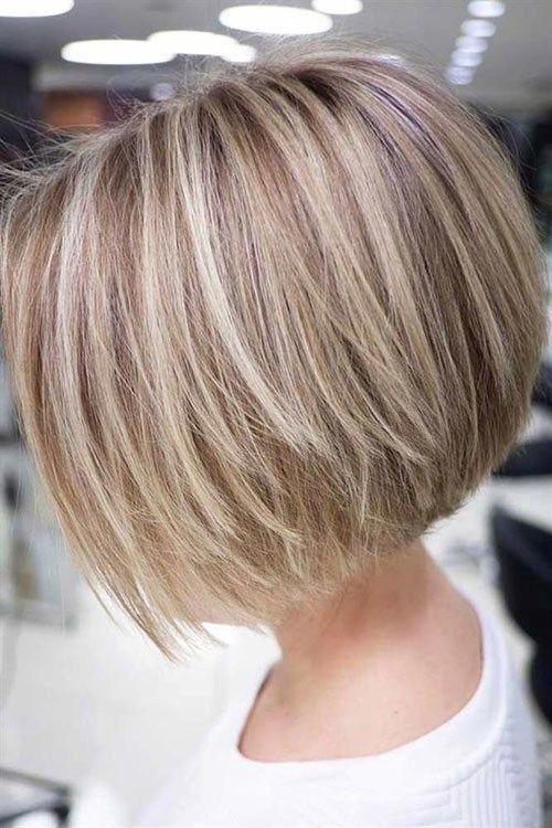 Blonde Highlights 1 Various Short Blonde Bob Hairstyles Bobhairstylesforfinehair Short Blonde Bobs Bob Hairstyles Bobs Haircuts