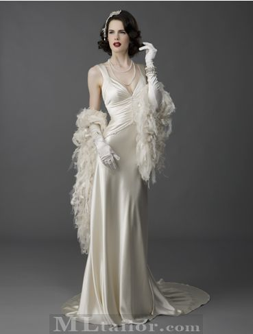 Old Hollywood Glamour Wedding Dresses - ... Sophisticated ...